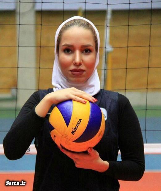 والیبال زنان دختر والیبالیست ایرانی بیوگرافی شقایق شفیع اخبار والیبال