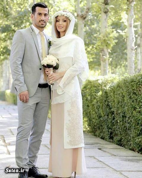 همسر فوتبالیست ها همسر احسان حاج صفی عروسی فوتبالیست ها بیوگرافی احسان حاج صفی اینستاگرام احسان حاج صفی