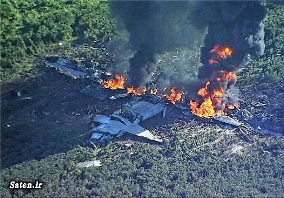 قدرت نظامی آمریکا عکس سقوط هواپیما سوانح هوایی سقوط هواپیما جنگنده اخبار آمریکا
