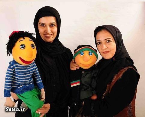 عروسکهای ایرانی عروسک گردان کلاه قرمزی عروسک گردان پسرخاله عروسک ساز و طراح عروسک بیوگرافی مرضیه محبوب