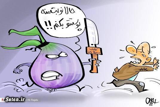 کاریکاتور قیمت کاریکاتور تدبیر و امید قیمت پیاز
