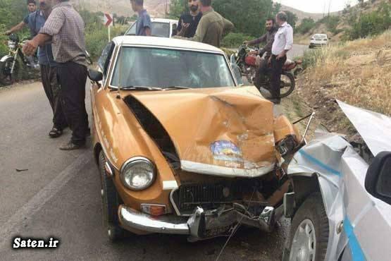 عکس تصادف خودرو حوادث گلستان تصادف در ایران انسان بدشانس اخبار تصادف