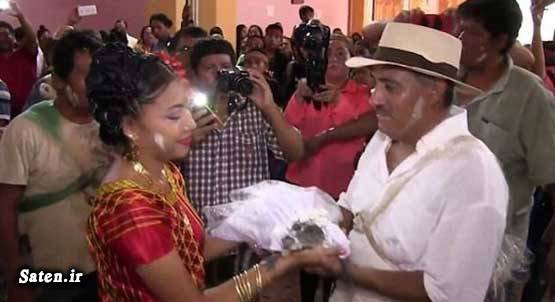 زن مکزیکی ازدواج عجیب ازدواج جالب ازدواج با حیوانات اخبار مکزیک