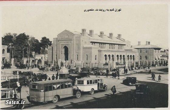 میدان توپخانه عکس قدیمی عکس تهران قدیم عکس ایران قدیم