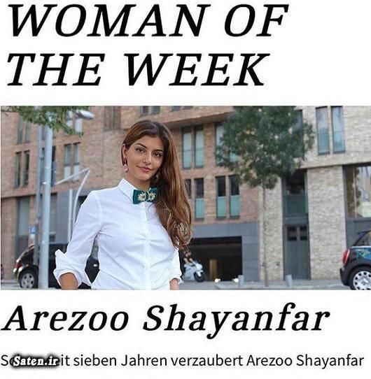 همسر فوتبالیست ها همسر فریدون زندی بیوگرافی آرزو شايانفر Arezoo Shayanfar