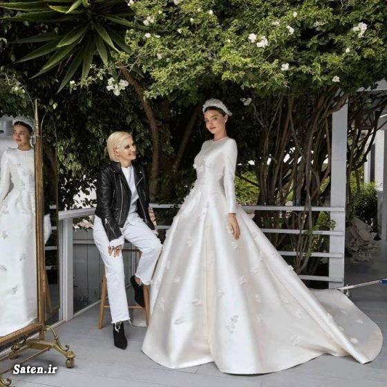 همسر میراندا کر همسر ایوان اشپیگل مدل لباس عروس جدید مدل لباس عروس پرنسسی لباس عروس پفی دنباله دار لباس عروس آستین دار گرانترین لباس عروس زیباترین لباس عروس بیوگرافی ایوان اشپیگل اینستاگرام میراندا کر