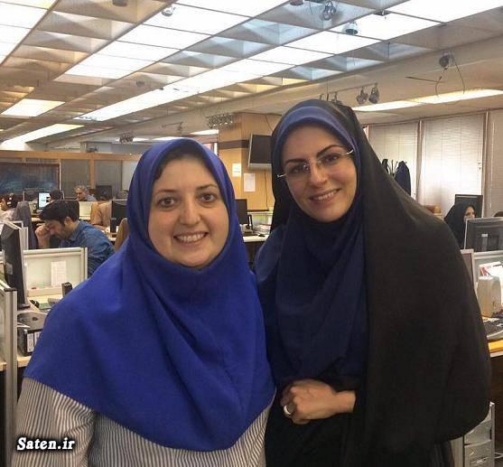 همسر زهرا رکوعی گوینده اخبار بیوگرافی میترا لبافی بیوگرافی زهرا رکوعی