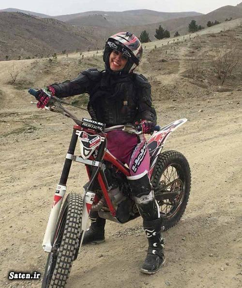 همسر نرگس سمیعی زاده زن موتور سوار دختر موتورسوار در تهران! دختر موتور سوارایرانی بیوگرافی نرگس سمیعی زاده
