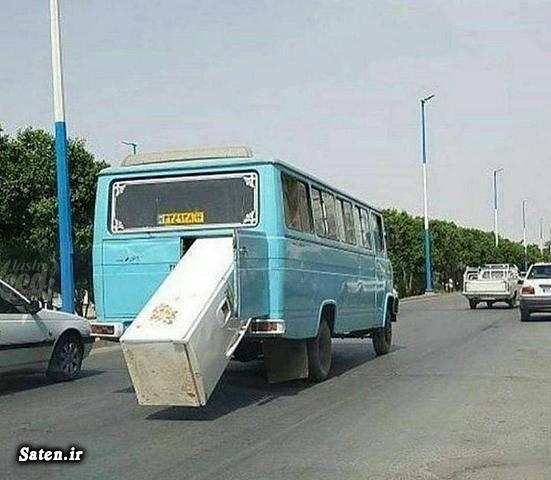 عکس های جالب و زیبا عکس مینی بوس عکس خلاقیت خلاقیت ایرانی حمل بار حمل اثاثیه منزل باربری و اتوبار