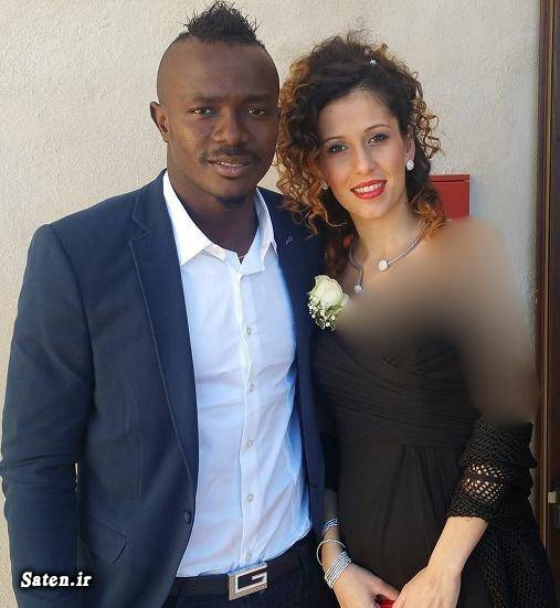 همسر گادوین منشا همسر فوتبالیستها همسر بازیکنان پرسپولیس بیوگرافی گادوین منشا godwin mensha
