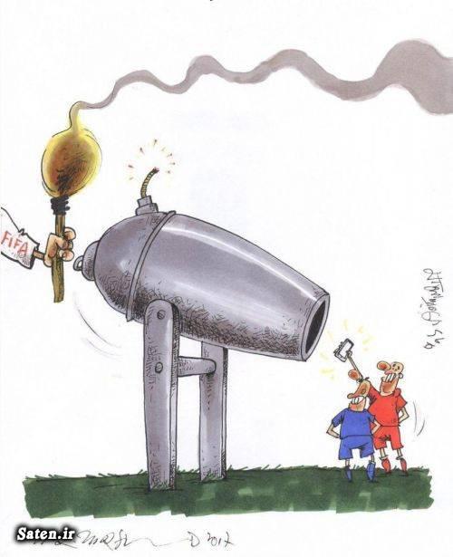 کاریکاتور ورزشی کاریکاتور پرسپولیس کاریکاتور استقلال