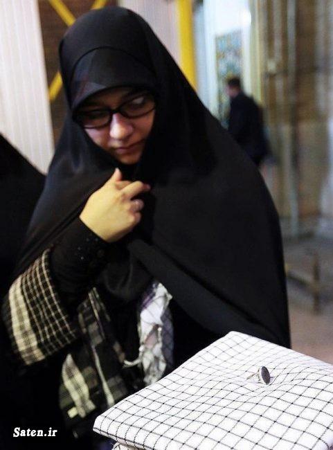همسر شهید محسن حججی رهبر انقلاب خانواده محسن حججی تشییع محسن حججی
