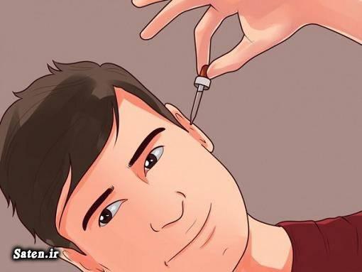 مجله سلامت درمان خانگی خارج کردن آب از گوش آب رفتن داخل گوش