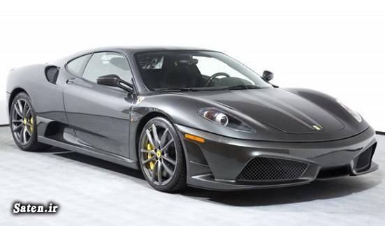 مشخصات خودرو فراری قیمت خودرو فراری فراری اف۴۳۰ تصادف خودرو لوکس تصادف خودرو گرانقیمت Ferrari 430 Scuderia