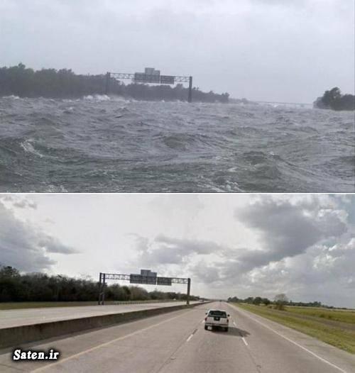 واقعیت زندگی در آمریکا عکس های جالب و زیبا عکس شگفت انگیز عکس سیل عکس با حال تگزاس آمریکا اخبار آمریکا