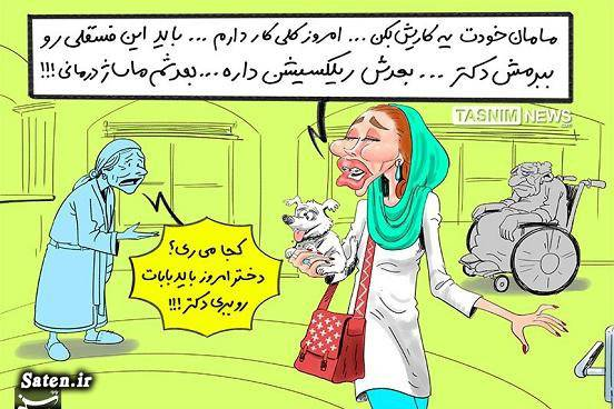 نوکیسه های ایران کاریکاتور تهران غرب زدگان روشنفکرنمایان