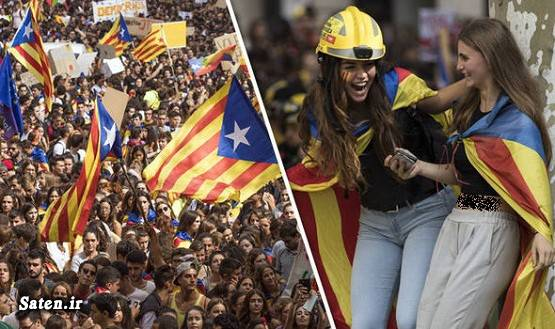 نقشه کاتالونیا کاتالونیا اسپانیا سفر به اسپانیا زن اسپانیایی اخبار اسپانیا Catalonia
