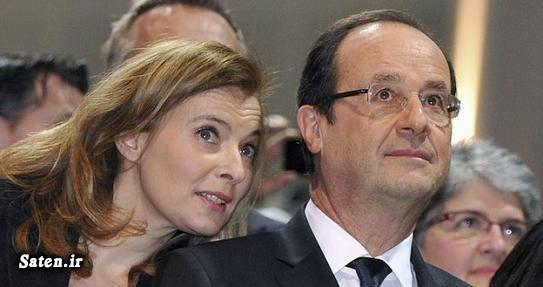 همسر رئیس جمهور فرانسوا اولاند و همسرش فرانسوا اولاند رئیس جمهور فرانسه حقوق زنان در اروپا بیوگرافی ژولی گیه آزادی زنان در غرب