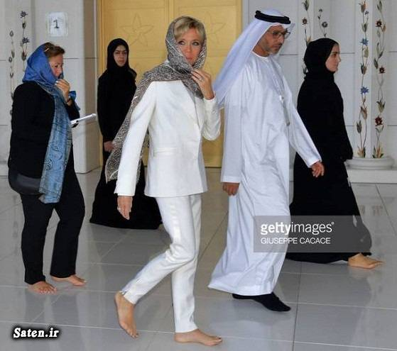 همسر رئیس جمهور همسر امانوئل مکرون مسجد شیخ زاید دبی رئیس جمهور فرانسه حجاب در خارج چرا حجاب لازم است بیوگرافی امانوئل مکرون امارات (دبی  ابوظبی)