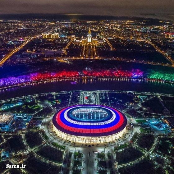 عکس روسیه عکس جام جهانی عکس جالب زیباترین ورزشگاه فوتبال جهان جام جهانی فوتبال 2018 جام جهانی ۲۰۱۸ روسیه افتتاحیه جام جهانی استادیوم های جهان اخبار جام جهانی 2018 world cup