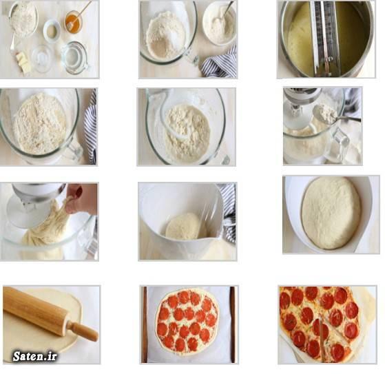 طرز تهیه خمیر پیتزای فوری در خانه +مواد لازم و نکات مهم