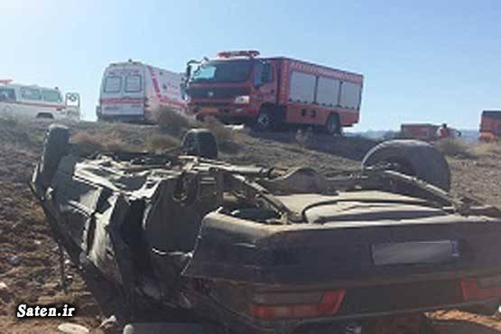 عکس تصادف مرگبار عکس تصادف خودرو حوادث یزد تصادف وحشتناک در ایران تصادف پژو