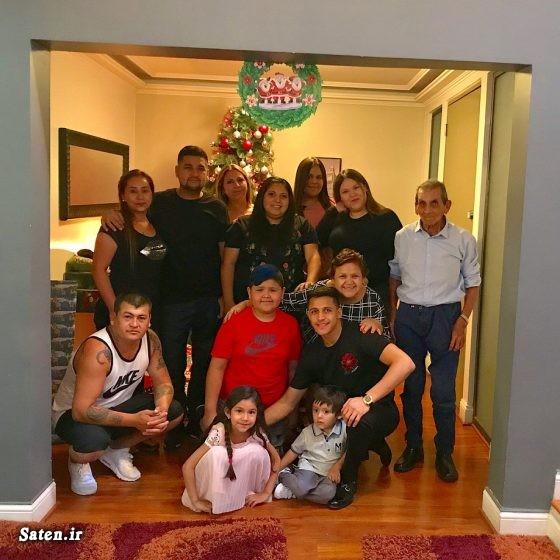 همسر فوتبالیستها سانچس بیوگرافی آلکسیس سانچز بازیکنان منچستر الکسیس سانچز و همسرش Alexis Sanchez