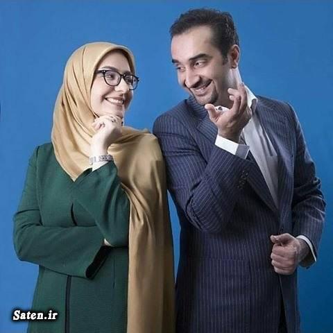 همسر نیما کرمی همسر مجریان همسر مجری زن همسر زینب زارع بیوگرافی نیما کرمی بیوگرافی زینب زارع