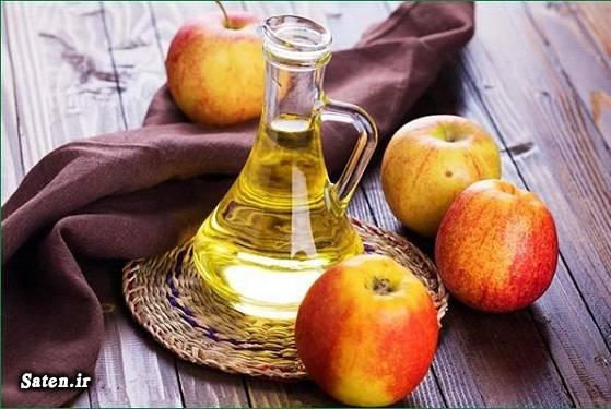 چگونه با کمک سرکه سیب ، چربی شکم و پهلو را آب کنید؟