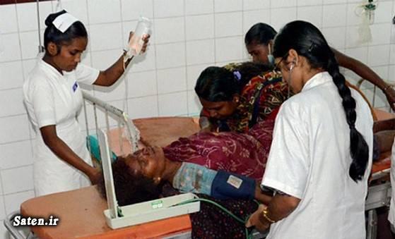 مرگ وحشتناک یک زن در بیمارستان +عکس