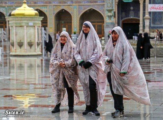 گردشگران خارجی عکس توریستی حرم حضرت معصومه اخبار قم آستان مقدس حضرت معصومه