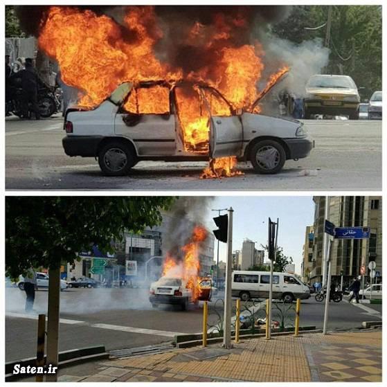 حوادث تهران جریمه های رانندگی اعتراض به جریمه پلیس اخبار تهران