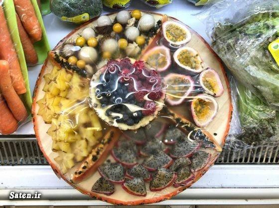 میوه های جدید در ایران میوه فروشی لوکس تهران لاکچری بودن یعنی چی گرانترین میوه قیمت انواع میوه پرسودترین میوه