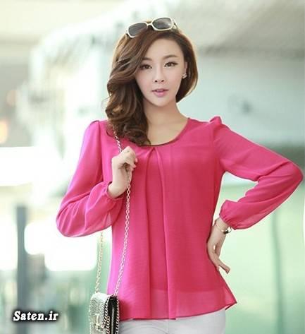 مدل لباس زنانه مدل تونیک کره ای لباس زنانه لباس تونیک چیست لباس بلوز چیست فرق شومیز با بلوز چیست فرق تونیک با شومیز دنیای مد و زیبایی چی بپوشم تونیک زنانه چیست