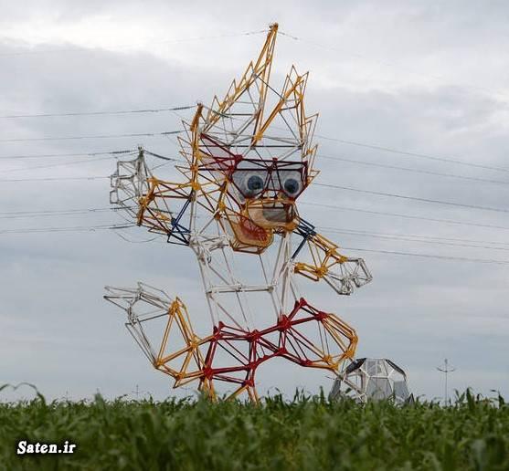عکس خلاقیت دکل برق چیست انواع دکل برق
