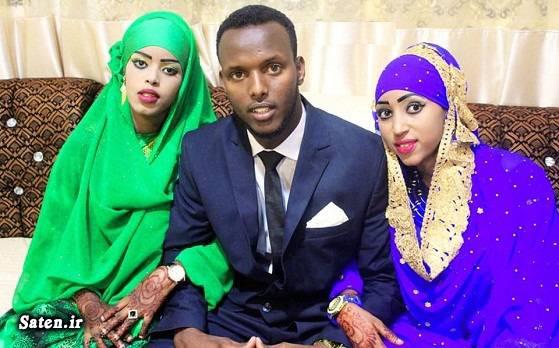 مردم سومالی عکس عروس و داماد سومالی حجله عروس و داماد چند همسری ازدواج همزمان ازدواج عجیب ازدواج جالب ازدواج با چند دختر اخبار ازدواج