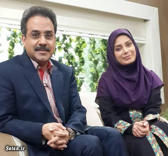 همسر محمد نظری همسر مجریان مجریان مشهور صداوسیما مجریان مرد تلویزیون ایران بیوگرافی محمد نظری مجری ازدواج مجریان
