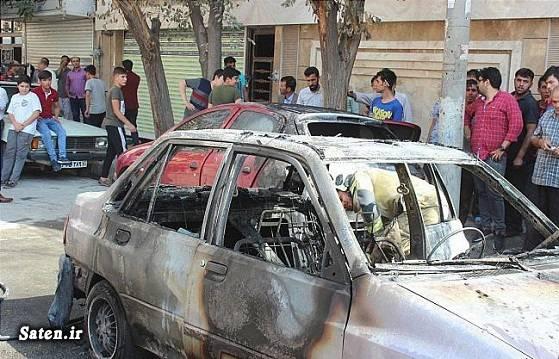 حوادث تهران اخبار شهر ری آتش سوزی در تهران آتش سوزی خودرو