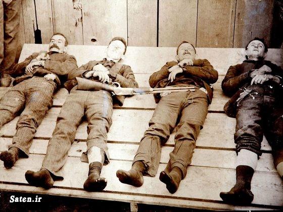 قدیمی ها عکس قدیمی سردسته خلافکاران دانستنی های جالب دالتون های واقعی اسم برادران دالتون اخبار آمریکا