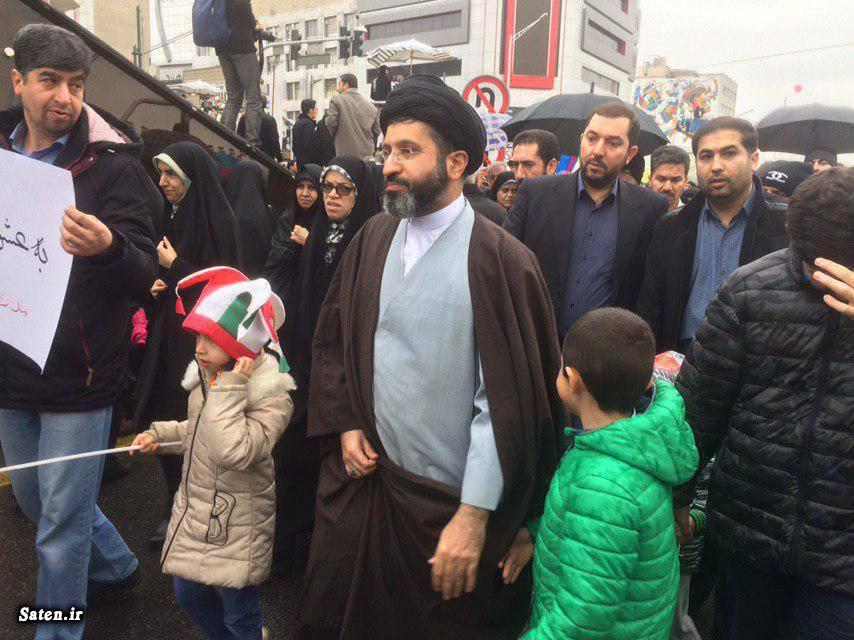 عکس فرزندان رهبر انقلاب در راهپیمایی ۲۲ بهمن ۱۳۹۷