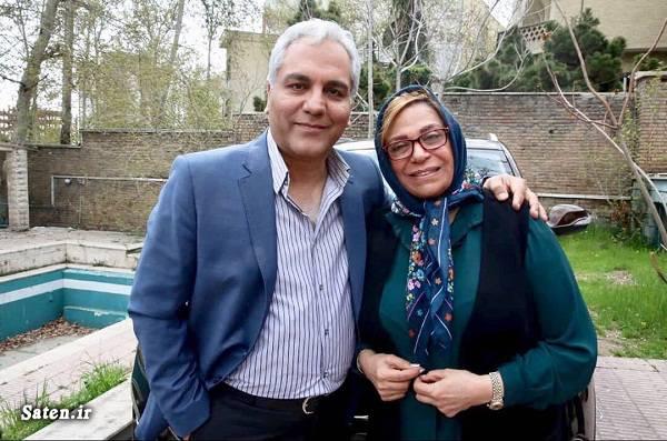 عکس صمیمی مهران مدیری با خانم بازیگر! +عکس