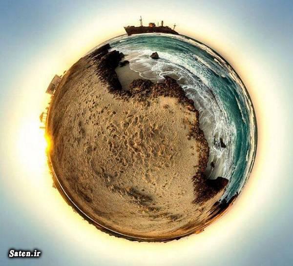 عکس 360 درجه زیبا از جزیره کیش