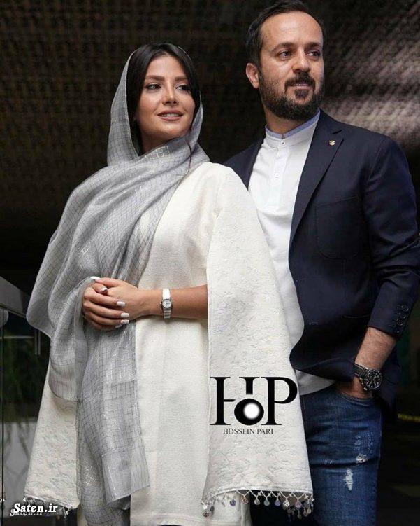 عکس عروسی احمد مهرانفر و همسر مونا فائض پور