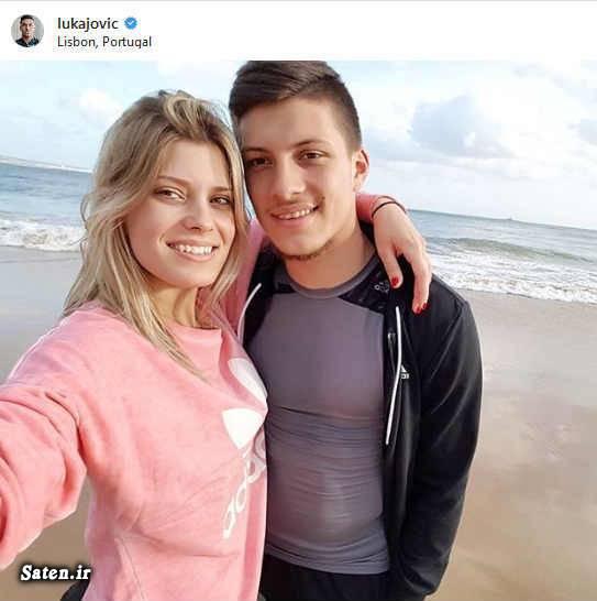 همسر لوکا یوویچ همسر فوتبالیستها همسر بازیکنان رئال مادرید دوست دختر فوتبالیست ها بیوگرافی لوکا یوویچ اخبار رئال مادرید luka jovic